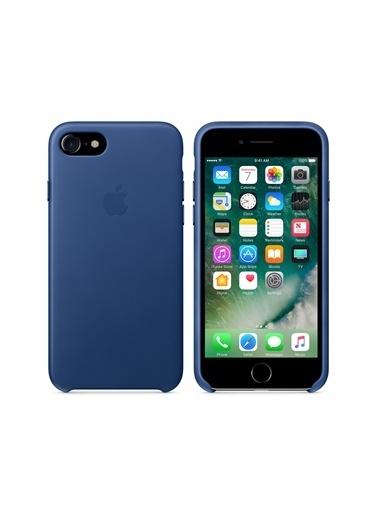 Apple Apple Iphone 7 8 Sapphire Deri Kılıf Renkli